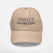 Civilly Disobedience Baseball Baseball Cap