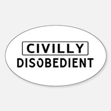 Civilly Disobedience Decal