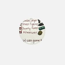 Girl Gamer Mini Button