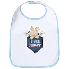 Babys 1st Easter Bunny Bib
