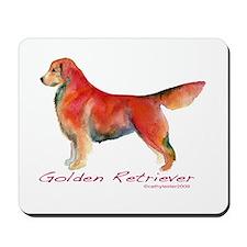 Golden Retriever in color Mousepad