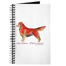 Golden Retriever in color Journal