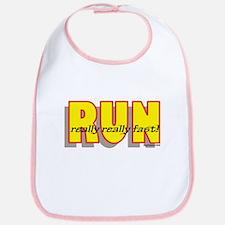 RUN Really Fast Bib