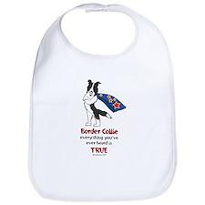 Super Border Collie Tri Bib