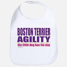 Boston Terrier Agility Bib