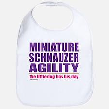 Miniature Schnauzer Agility Bib