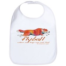 Real dogs Real fast Bib