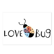 Love Bug Postcards (Package of 8)