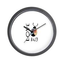 Love Bug Wall Clock