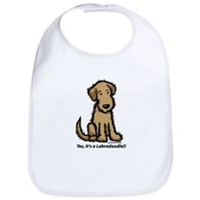 Yes it's a Labradoodle!! Bib