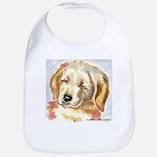 Golden Retriever puppy - head Bib