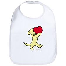 Yellow Labrador Retriever Bib