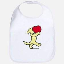 Yellow Labrador Retriever Bib