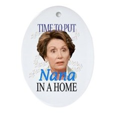 Time To Put Nana Pelosi In a Oval Ornament