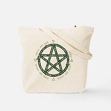 Earth Air Fire Water Tote Bag