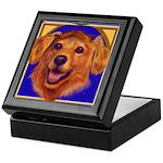 Dog Bereavement Treasure Altar Keepsake Box