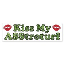 Asstroturf Bumper Sticker