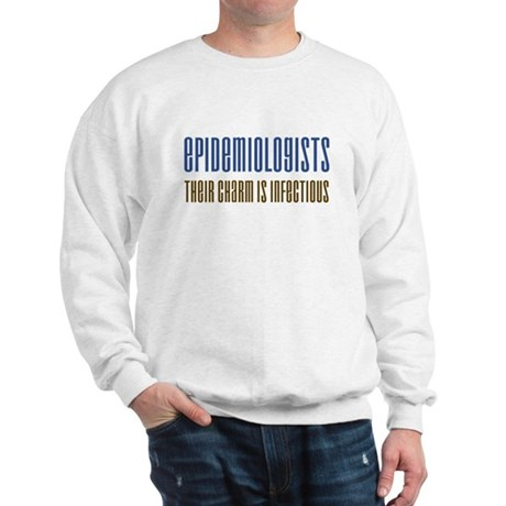 Epidemiologists Charm Sweatshirt