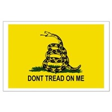 Gadsden: Don't Tread On Me Large Poster