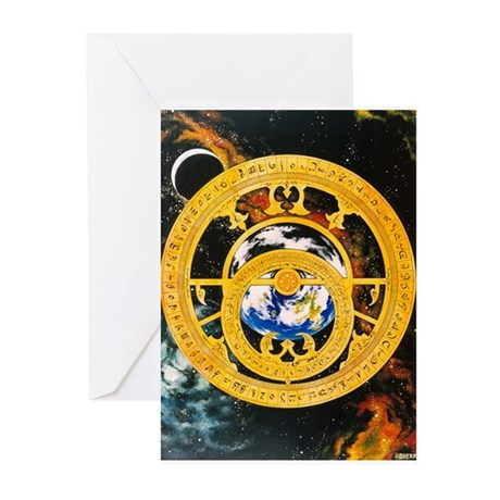 Astrolabe Greeting Cards (Pk of 20)