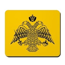 Greek Orthodox Church Flag Mousepad