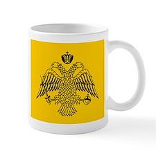 Greek Orthodox Church Flag Small Mugs