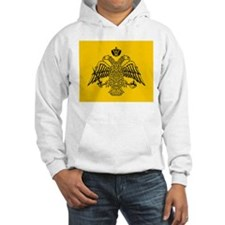Greek Orthodox Church Flag Hoodie Sweatshirt