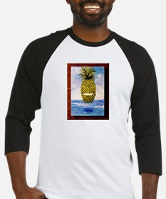 Smiling Pineapple Baseball Jersey