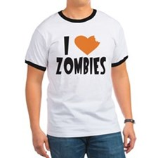 I Heart Zombies Men's T