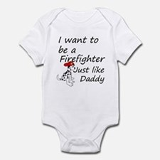 Cute Careers and professions emt Infant Bodysuit