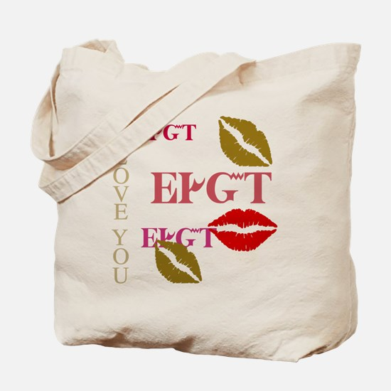 Cherokee I Love You Tote Bag