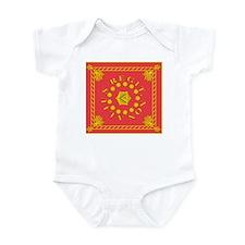 Pulaski's Legion Flag Infant Bodysuit
