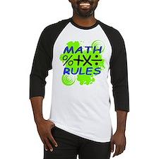 Math Rules! Baseball Jersey