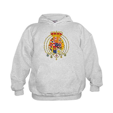 Kingdom of Two Sicilies Coat Kids Hoodie