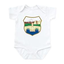 Skopje Coat of Arms Infant Bodysuit