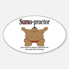 SUMO-practor Hug Therapy Oval Decal