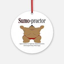 SUMO-practor Hug Therapy Ornament (Round)