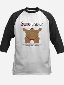 SUMO-practor Hug Therapy Kids Baseball Jersey