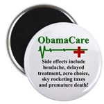"ObamaCare - Side Effects 2.25"" Magnet (100 pack)"