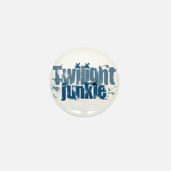 Twilight Junkie - blue Mini Button