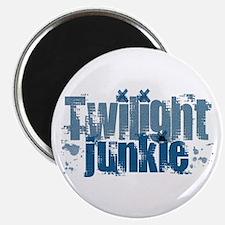 Twilight Junkie - blue Magnet