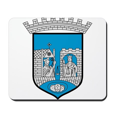 Trondheim Coat of Arms Mousepad