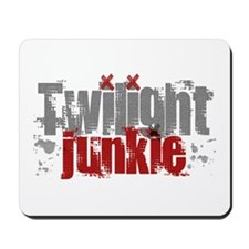 Twilight Junkie - red Mousepad