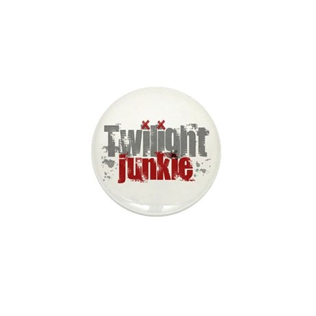 Twilight Junkie - red Mini Button