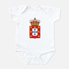 Kingdom of Portugal Coat of A Infant Bodysuit