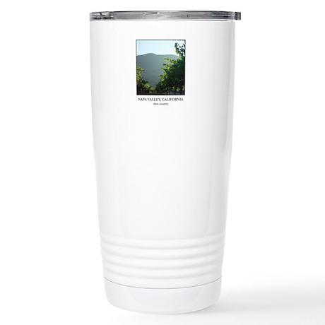 Vineyards at Sunset Stainless Steel Travel Mug