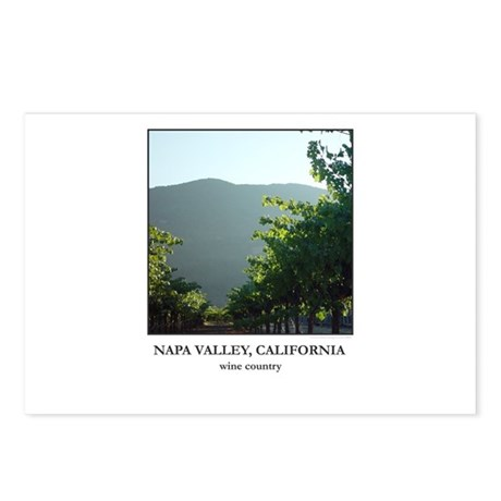 Vineyards at Sunset Postcards (Package of 8)