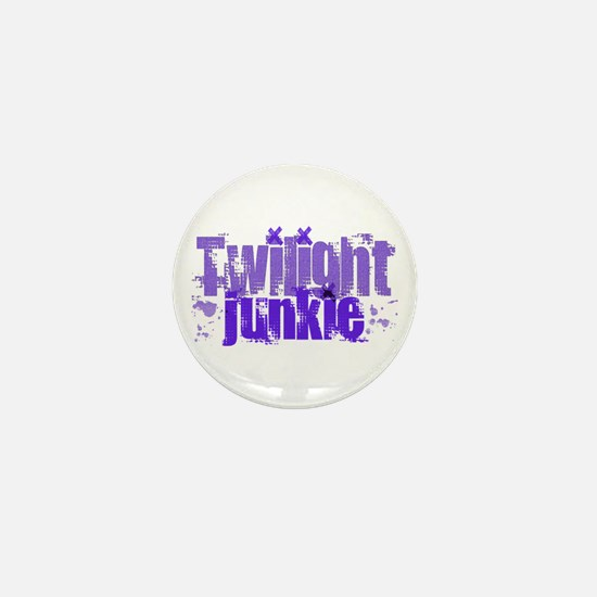 Twilight Junkie - purple Mini Button