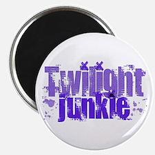 Twilight Junkie - purple Magnet