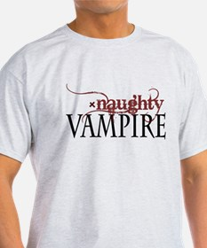 naughty VAMPIRE - red T-Shirt